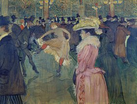 Henri de Toulouse-Lautrec: Ball im Moulin Rouge