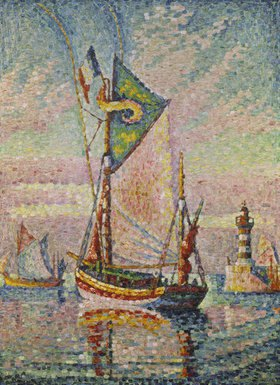 Paul Signac: Im Hafen von Concarneau