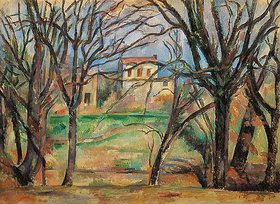 Paul Cézanne: Häuser und Bäume