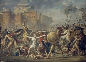 Jacques Louis David: Kampf zwischen Sabinern und Römern (Die Sabinerinnen)