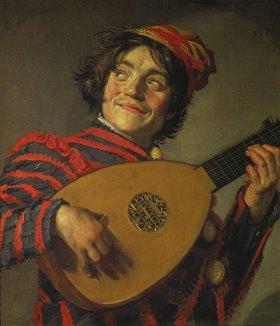 Frans Hals: Lautespielender Narr