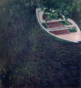 Claude Monet: La Barque. Gegen