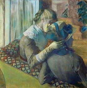 Edgar Degas: Zwei Frauen