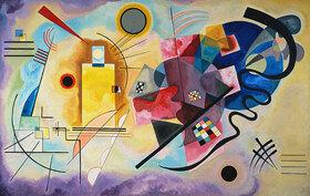 Wassily Kandinsky: Gelb, rot und blau