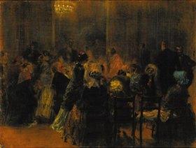 Adolph von Menzel: Salonkonzert