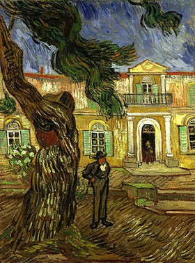 Vincent van Gogh: Die Anstalt Saint-Paul-de-Mausole in Saint-Rémy