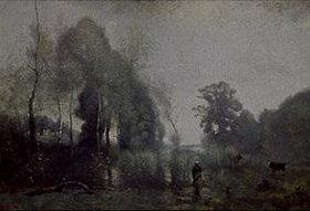 Jean-Baptiste Camille Corot: Im Morgennebel am Teich von Ville-d'Avray
