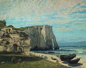 Gustave Courbet: Die Felsen von Etretat nach dem Sturm