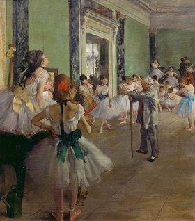 Edgar Degas: Die Tanzklasse. Gegen