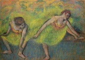 Edgar Degas: Zwei ausruhende Tänzerinnen