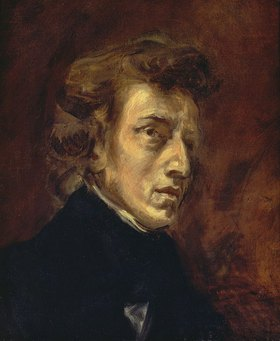 Eugene Delacroix: Bildnis Frédéric Chopin