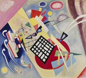 Wassily Kandinsky: Mit dem schwarzen Raster