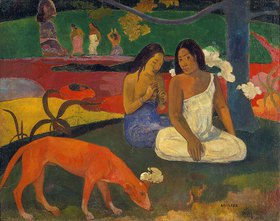 Paul Gauguin: Arearea (Der rote Hund)