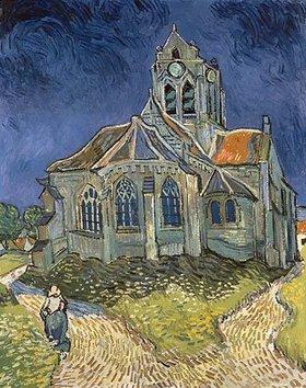 Vincent van Gogh: Die Kirche von Auvers-sur-Oise