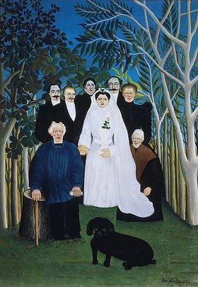Henri Rousseau: Eine Hochzeit auf dem Lande