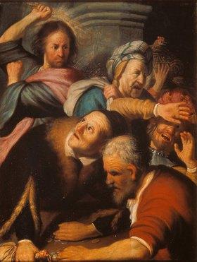 Rembrandt van Rijn: Die Vertreibung der Händler aus dem Tempel