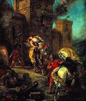 Eugene Delacroix: Die Entführung der Rebec