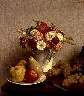 Henri de Fantin-Latour: Blumen und Früchte