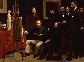 Henri de Fantin-Latour: Un atelier aux Batignolles
