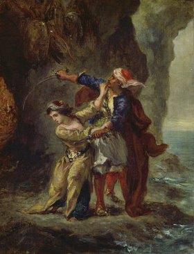 Eugene Delacroix: Die Verlobte des Abydos