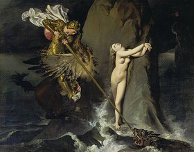 Jean Auguste Dominique Ingres: Roger befreit Angelika
