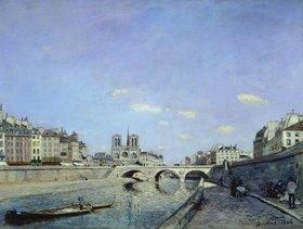 Johan Barthold Jongkind: Paris, Seinebrücke und Notre Dame