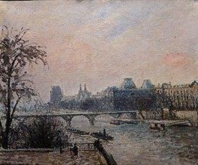 Camille Pissarro: Paris, Seine und Louvre