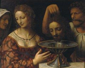Bernardino Luini: Salome mit dem Haupt Johannes des Täufers