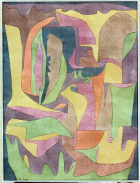 Paul Klee: Landschaft bei Pilamb