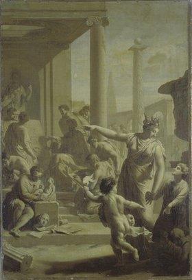 Adriaen van der Werff: Einführung in den Tempel der schönen Künste