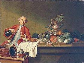 Peter Jakob Horemans: Vornehmer Herr beim Wein