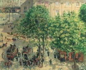 Camille Pissarro: Place du Theatre in Paris