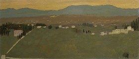 Maurice Denis: Landschaft bei Fiesole