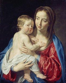 Philippe de Champaigne: Maria mit dem Kinde