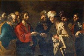 Bartolomeo Manfredi: Der Zinsgroschen