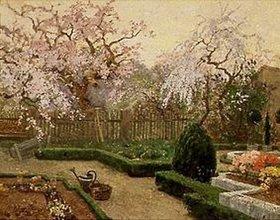 Paul Reiffenstein: Frühlingsgarten