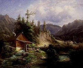 Gustav Barbarini: Partie in den Voralpen