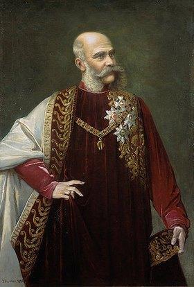 Johann Herrman: Porträt Kaiser Franz Joseph
