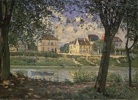Alfred Sisley: Die kleine Stadt Villeneuve-la-Garenne an der Seine