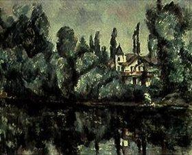 Paul Cézanne: Am Ufer der Marne
