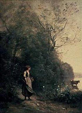 Jean-Baptiste Camille Corot: Seelandschaft