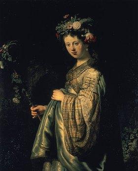 Rembrandt van Rijn: Flora