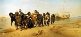 Ilja Efimowitsch Repin: Die Wolgatreidler