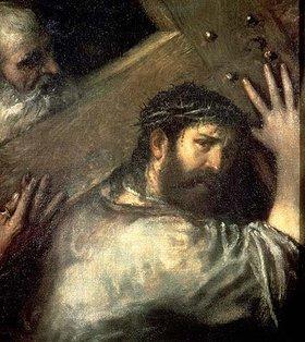 Tizian (Tiziano Vecellio): Die Kreuztragung. 1560-er Jahre