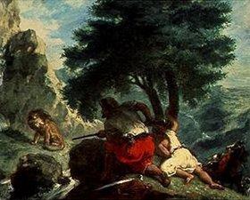 Eugene Delacroix: Die Jagd auf Löwen