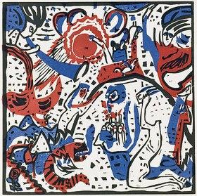 Wassily Kandinsky: Klang der Posaunen (Grosse Auferstehung)