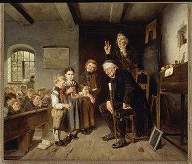 Friedrich Peter Hiddemann: Das Schulexamen
