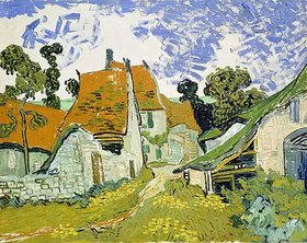 Vincent van Gogh: Dorfstraße in Auvers