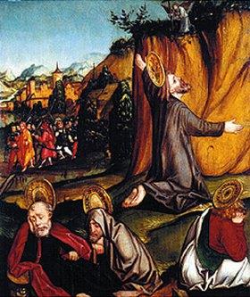 Monogrammist P.C: Christus am Ölberg