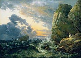 Johan Christian Clausen Dahl: Morgen nach einer Sturmnacht